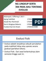 RUANG LINGKUP SERTA PENDEKATAN PARA AHLI TENTANG EVOLUSI (1).pptx