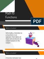 Math 10 Functions