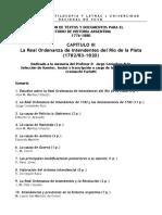 03_La Real Ordenanza de Intendentes del Río de la Plata