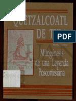 Quetzalcoatl de Tula mitogénesis de una leyenda postcortesiana - Werner Stenzel -
