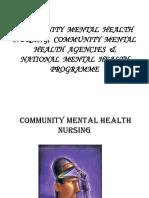 COMMUNITY MENTAL HEALTH NURSING, COMMUNITY MENTAL HEALTH-1.pptx