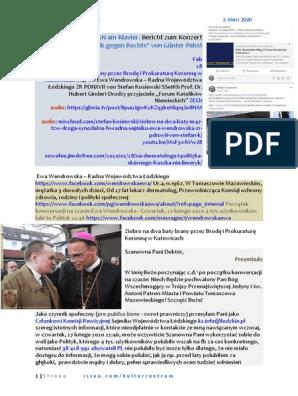 Ziobro na dwa baty M47 tzw. droga synodalna FO Radna Sejmiku Ewa Wendrowska ZR PDNXVII von Stefan Kosiewski SSetKh ZECh 20200302 ME SOWA Prof. Gindert