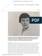 'Conversaciones sobre la escritura' con la maestra Ursula K. Le Guin - Cultur Plaza