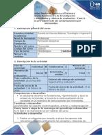 Guía de actividades y rúbrica de evaluación - Fase 0 - Reconocer los pre-saberes de las comunicaciones por microondas