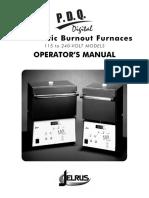 horno Operators Manual_115-240V
