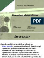 Operativni Sistem - Linux-Rev1