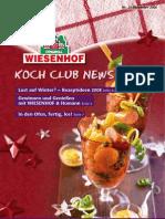 Wiesenhof Kochclub Nr. 31 | Dezember 2008