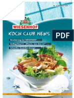 Wiesenhof Kochclub Nr 34 | Dezember 2009