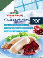 Wiesenhof Kochclub Nr. 36 | August 2010