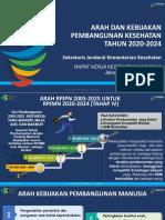 Arah Pembangunan Kesehatan 2020-2024