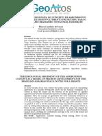 A HEGEMONIA IDEOLÓGICA DO CONCEITO DE AGRONEGÓCIO