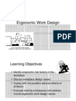 Ergonomic Work Design