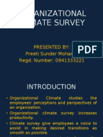 Organizational Climate Survey_preeti