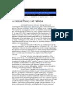 JH Archetypal Theory