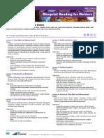 416 Blueprint Reading for Welders Course Description