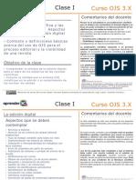 Clase 1. Gestión de plataforma de acceso abierto para OJS