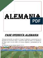 ALEMANIA ANALISIS FASE OFENSIVA