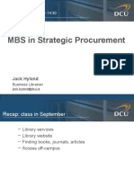MSC Strategic Procurement Dec2010 - PowerPoint