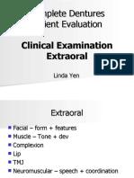 Complete Dentures_ Extraoral Exam