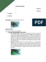 Bearing Manufacturing Process Layout