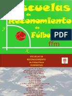 programa escuelas futbol base
