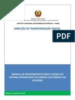 Manual de Procedimentos SCCE