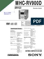 MHC-RV900D ver. 1.3