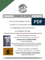 HORARIO DE VISITAS