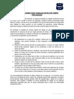 04. RECOMENDACIONES PARA TRABAJOS DE PIE