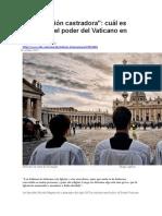BBC Mundo - Una relación castradora - Cuál es realmente el poder del Vaticano en Italia.docx