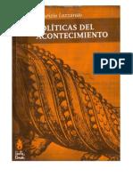 Politicas Del Acontecimiento Maurizio Lazzarato[1]