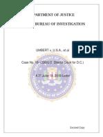 Umbert ATF FBI Letters