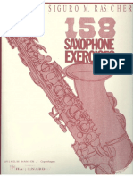 Sigurd M.Rascher - 158 Saxophone Exercises