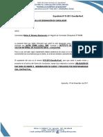 DESIGNACIÓN DE CONCILIADOR (01)