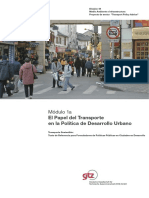 El papel del transporte