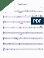 modificatotanti auguri score - Trumpet in Bb