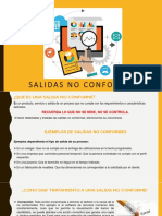 SALIDAS NO CONFORMES