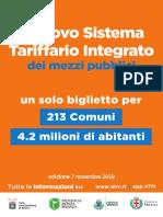 sistema tariffario integrato bm brochure