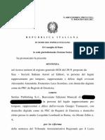 Consiglio di Stato Sent. 831/2020