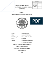 Laporan Praktikum Geografi Regional Indonesia - Acara V