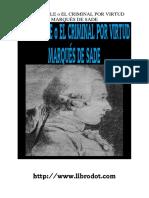 Sade Marques De - Dorgeville O El Criminal Por Virtud