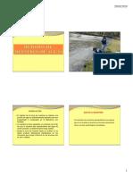 Manual muestreo de aguas