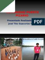 Comunidad Indigena de Puerto Pizario Jose Tito
