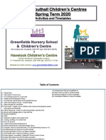 Greenfields and Havelock Children's Centre Brochure 2020