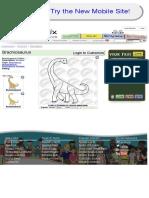 Brachiosaurus Outline for Classroom  Therapy Use - Great Brachiosaurus Clipart