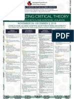 Decolonizing, Critical Theory Schedule v20-1