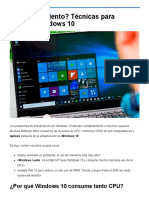 ¿Ordenador lento_ Técnicas para acelerar Windows 10 - Tecnobits.pdf