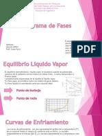 presentacion de quimica sobre diagramas de fases