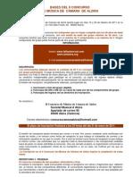 BASES DEL II CONCURSO DE MÚSICA DE CÁMARA DE ALZIRA
