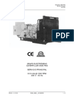 FICHA TÉCNICA GRUPO ELECTRÓGENO CATERPILLAR 3508 PKG SERVICIO PRINCIPAL 910 kVA @ 1500 RPM 400 V